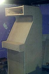 My Ol' MAME arcade during construction