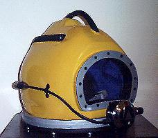 My diving helmet